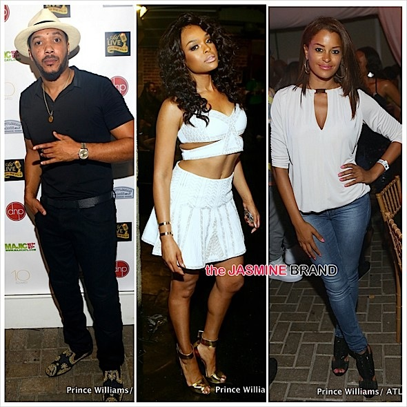 Kandi Burruss, Demetria McKinney, Lyfe Jennings & Claudia Jordan Spotted At 'ATL Live On the Park' [Photos]