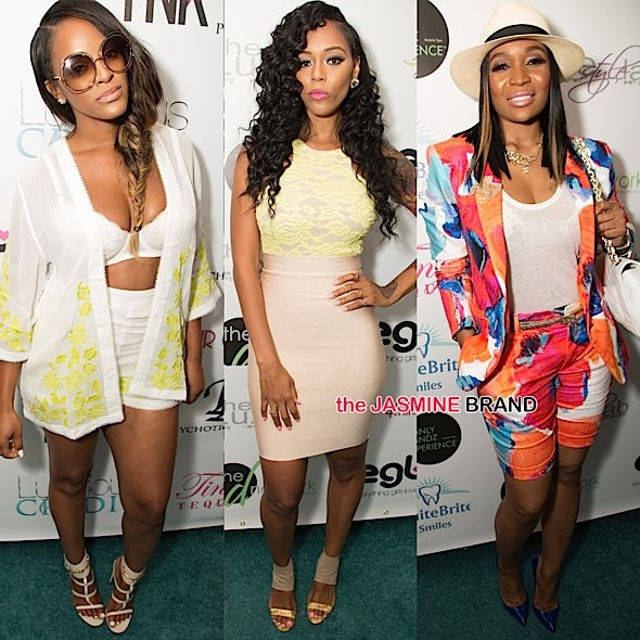 Malaysia Pargo, Brandi Maxiell, Marlo Hampton, Demetria McKinney Attend 'Eye On Glam' Brunch [Photos]