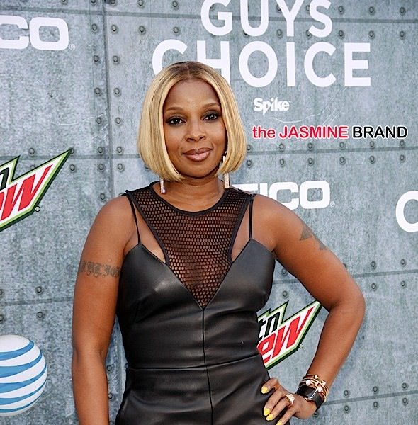 Mary J. Blige Talks Split From Ex Husband: I had to forgive myself for being so stupid. I had to forgive him for everything he did.