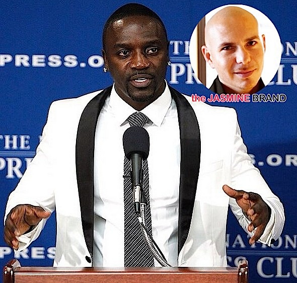 (EXCLUSIVE) Pitbull Dragged into Akon's $300K Legal Battle Over Music Video