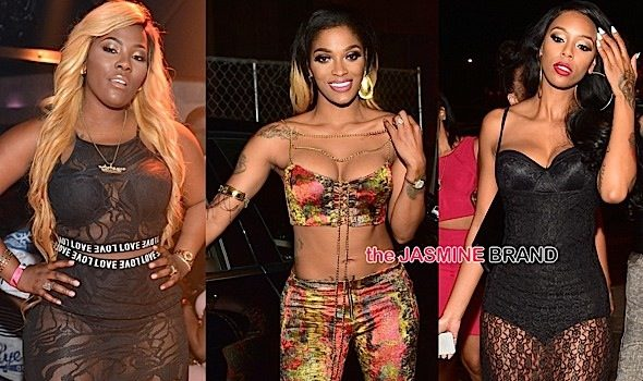 LHHA's Stevie J, Joseline Hernandez, Bambi, PreMadonna, Scrappy Hit ATL Club [Photos]