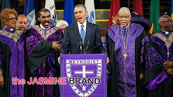 President Obama Amazing Grace-the jasmine brand