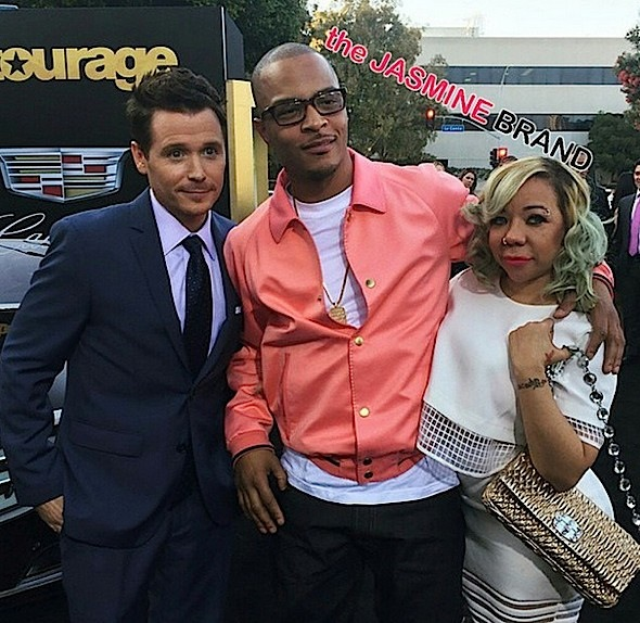 T.I., Tiny, Mike Tyson, Sevyn Streeter, Wiz Khalifa Attend 'Entourage' Premiere [Photos]