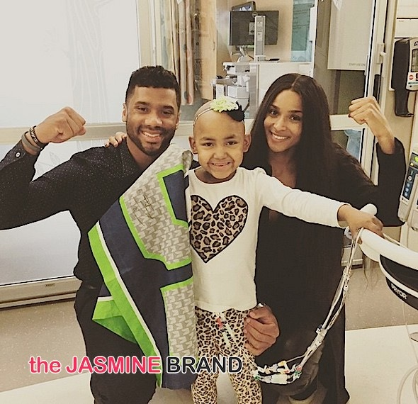 Ciara & Boyfriend Russell Wilson Visit Children's Hospital + Janet Jackson To Release New Album In the Fall [Photos]