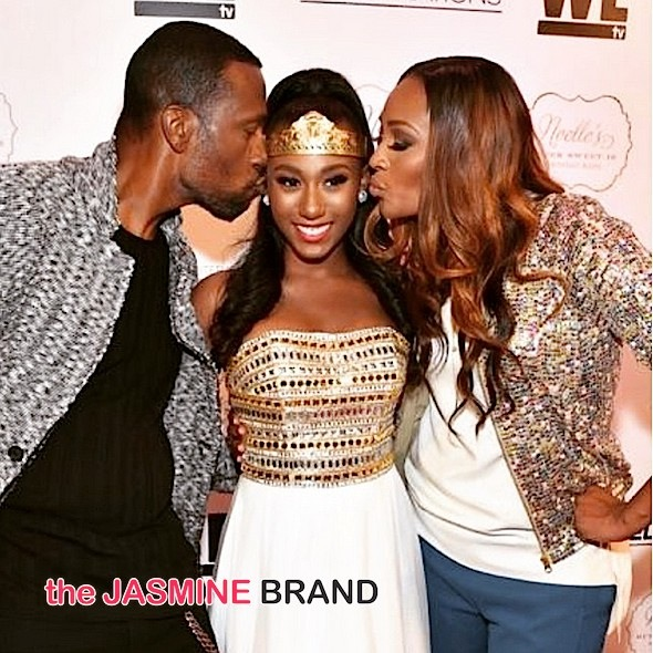 Cynthia Bailey Throws Daughter Sweet 16 Bash For WE TV: Diggy Simmons, Trevor Jackson [Photos]