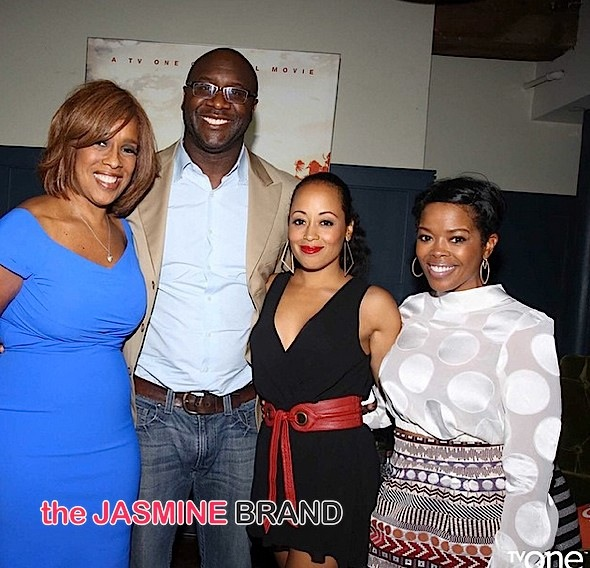 Gayle King, Roger Bobb, Essence Atkins, Malinda Williams