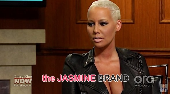 Amber Rose Did Not Choose Fame, Says She Would Pose For 'Playboy'