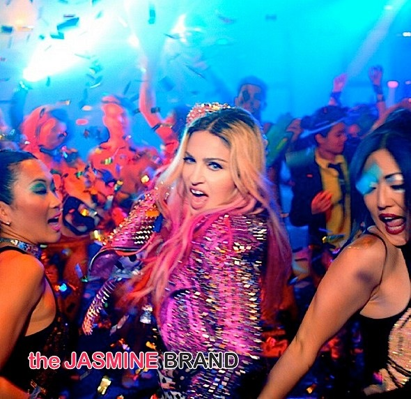 Madonna Releases New Video quotB Im Madonnaquot Featuring