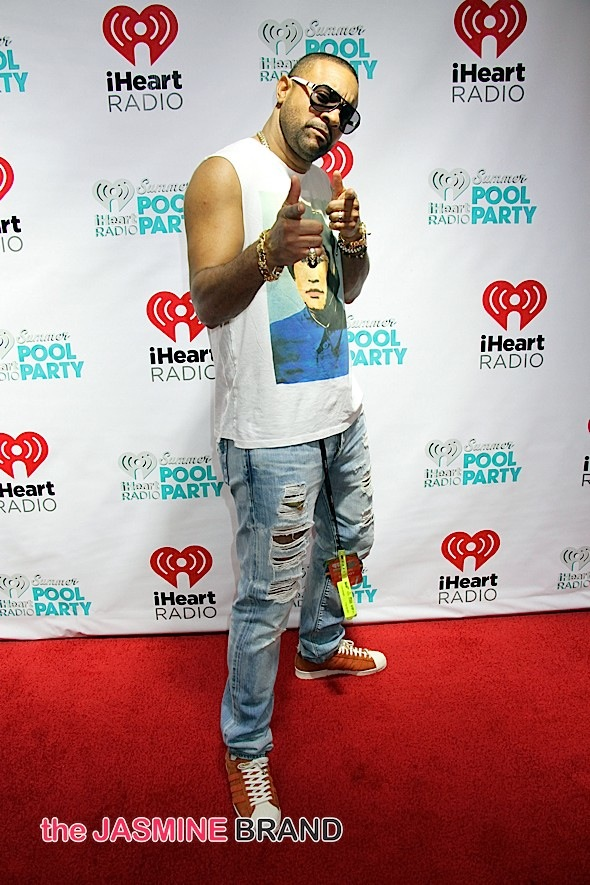 2015 iHeartRadio Summer Pool Party at Caesars Palace Pool in Las Vegas - Arrivals