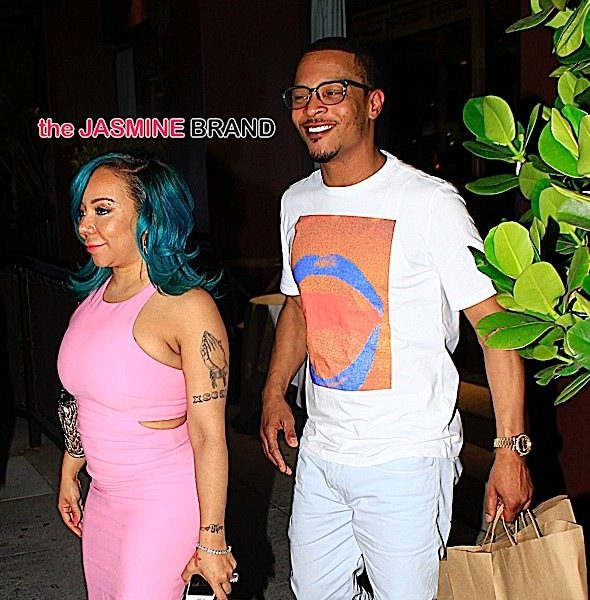 (EXCLUSIVE) T.I. & Tameka 'Tiny' Harris Split! Tiny Moves Out
