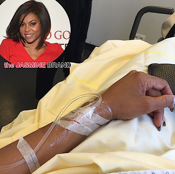 Taraji P. Henson Hospitalized Due to Exhaustion [Photo]