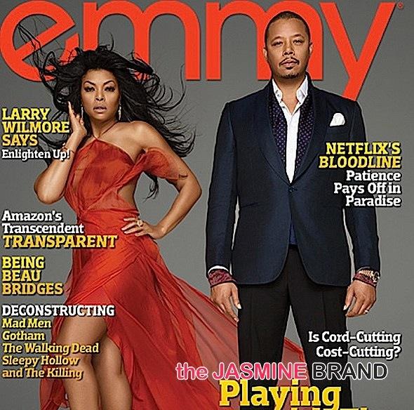 Taraji P Henson-Terrence Howard-Emmy magazine-the jasmine brand