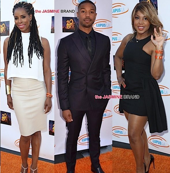 Toni Braxton, Michael B. Jordan, Tasha Smith Attend Lupus LA Orange Ball and A Night of Superheroes [Photos]