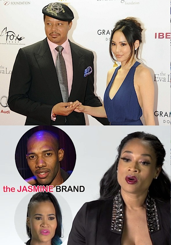 Terrence Howard Wife New Baby-Mimi Faust-Nikko London-the jasmine brand