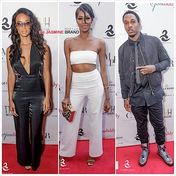 Terrence J, Quincy Brown, Jessica White, Draya Michele, Brandon Jennings, Russell Simmons, Mona Scott-Young Celebrate 'Toast To Young Hollywood' [Photos]