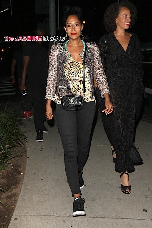 Tracee Ellis Ross Has Dinner at BOA after The BETs