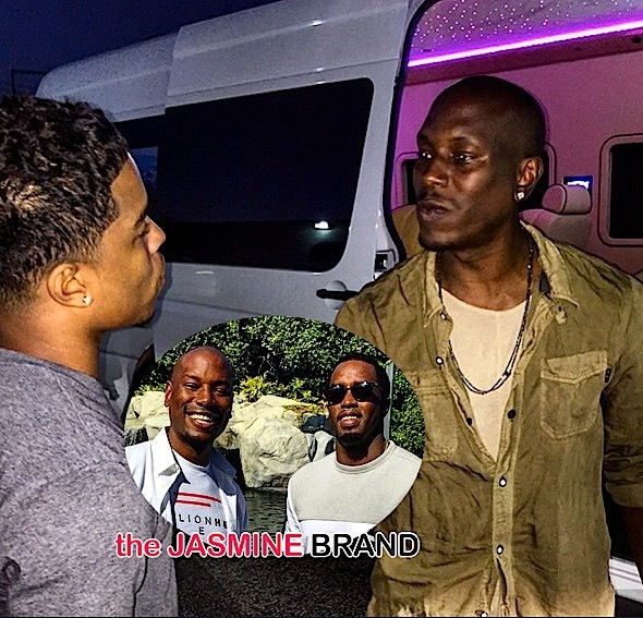 Tyrese Defends Diddy UCLA Incident-Justin Combs-the jasmine brand