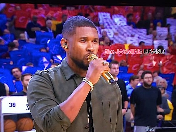 Usher Performs National Anthem At NBA Finals Game [WATCH]