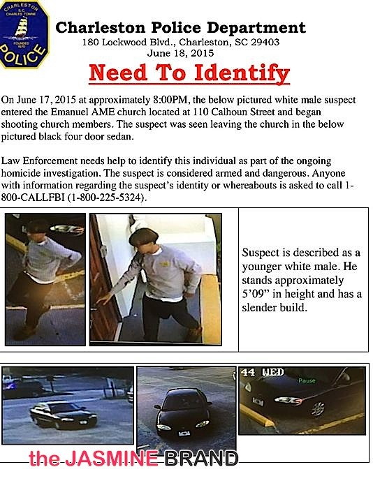 White Gun Kills South Carolina Church Members-the jasmine brand