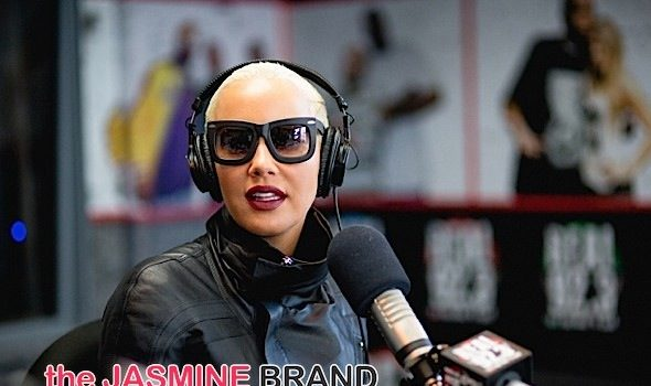 Amber Rose Blames Blasting Kanye In Club On Spiked Drink: I woke up in my bed, naked. [VIDEO]