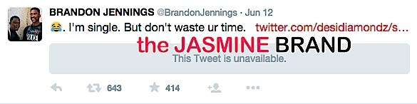 brandon jennings-tweets he is single-the jasmine brand