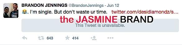 brandon jennings-tweets he is single-the jasmine brand