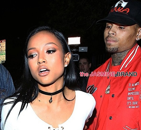 (UPDATE) Chris Brown Allegedly Attempts to Reunite With Karrueche Tran @ Hollywood Club, Encounter Ends With Yelling Match [Photos]