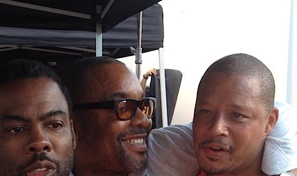 Chris Rock Spotted Filming 'Empire' Season 2 [Photos]