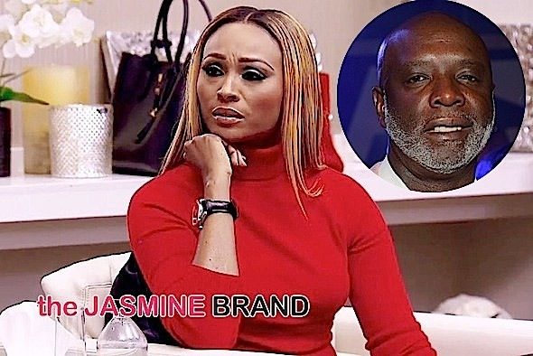 Cynthia Bailey Speaks Out & Is Standing By Her Husband, Peter Thomas: I don't know that it's grounds for divorce. [VIDEO]