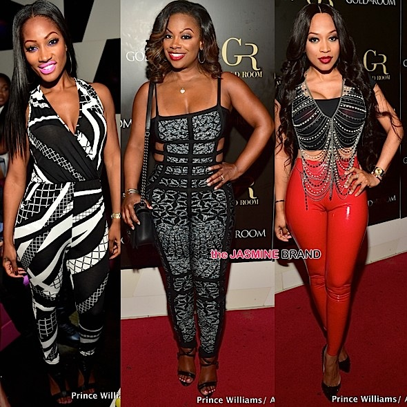 Kandi Burruss, Monyetta Shaw, Erica Dixon, Marlo Hampton, Tammy Rivera Party At ATL's Goldroom [Photos]