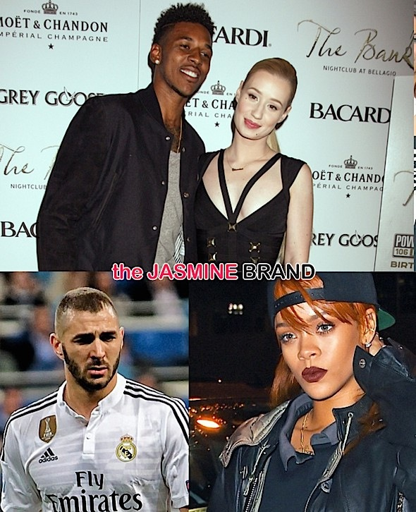 iggy allegedly pregnant by nick young-rihanna dating soccer player karim-the jasmine brand