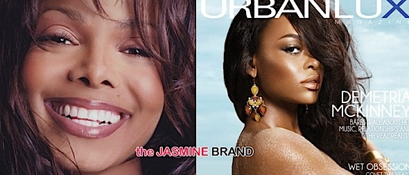 Demetria McKinney Goes Topless For Urban Lux + Janet Jackson Announces Tour