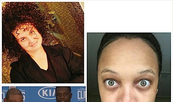 Tyra Banks Shares 'Beat Free' Face, Kelly Osbourne Channels Rachel Dolezal + Lance Stephenson Joins the Clippers [Photos]