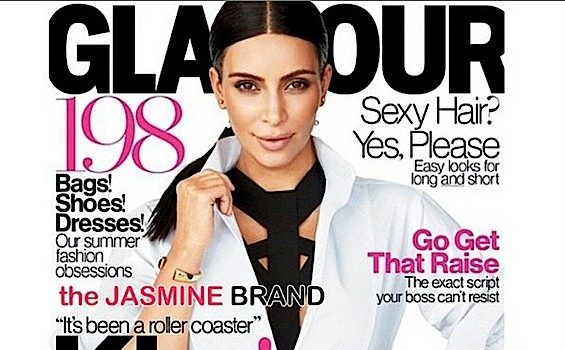 Newly Pregnant Kim Kardashian Talks Fertility Drama: It's been a roller coaster! + See Her Glamour Cover