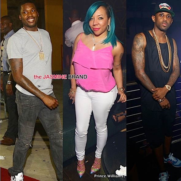 Meek Mill, Tameka 'Tiny' Harris, T.I., Fabolous, Toya Wright Party At Club XS [Photos]