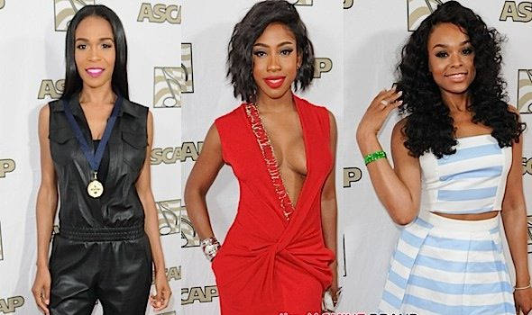 Timbaland, Michelle Williams, Sevyn, Demetria McKinney, Erica Campbell Spotted in LA [Photos]