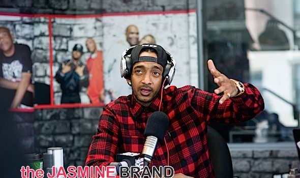 Nipsey Hussle Talks Turning Down 'NWA Movie' + Dating Lauren London: I always knew she'd be my girlfriend. [VIDEO]