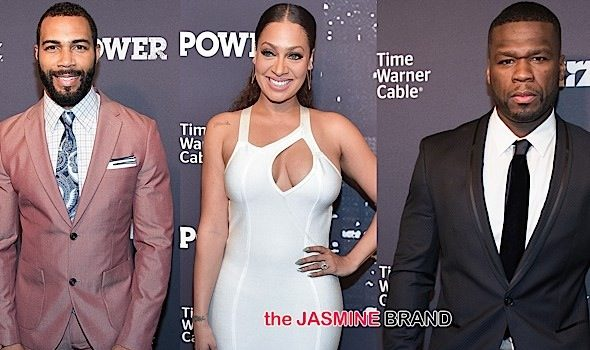 50 Cent, Naturi Naughton, Omari Hardwick, Lala Anthony Attend 'Power' Premiere in NYC [Photos]