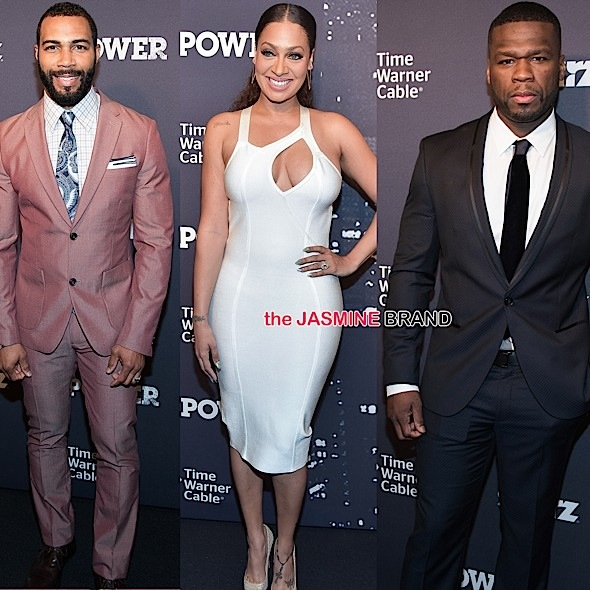 Omari Hardwick, Lala Anthony, 50 cent