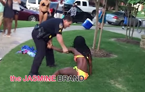 Excessive Force or Nah? Texas Officer Placed On Leave After Disturbing Pool Party Video [WATCH]
