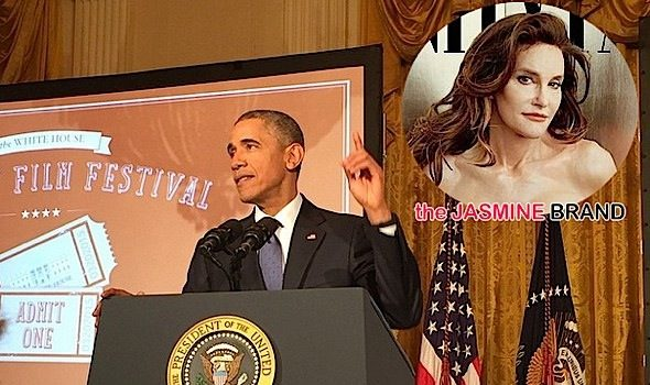 President Obama Supports Caitilyn Jenner, Brandy Extends Her Broadway Stay + Vivica Fox Covers Upscale [Photos]