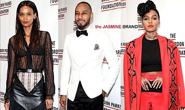 Usher, Janelle Monae, Swizz Beatz Attend Gordon Parks Foundation Awards Dinner [Photos]