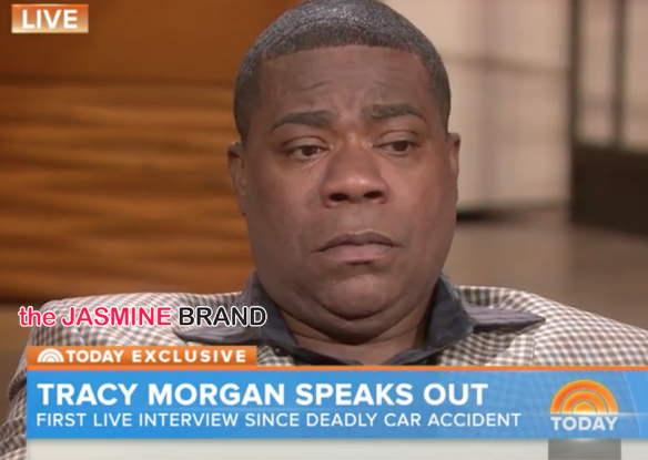 Tracy Morgan Cries During 1st Interview Since Crash: I can't believe I'm here. [VIDEO]