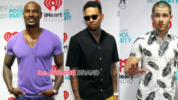 Chris Brown, Tyson Beckford, Shaggy, Mario Lopez, Nick Jonas Hit iHeart Red Carpet [Photos]