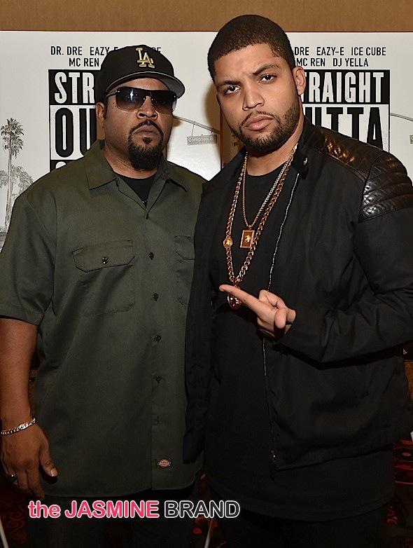 Ice Cube and son/actor O'Shea Jackson Jr.