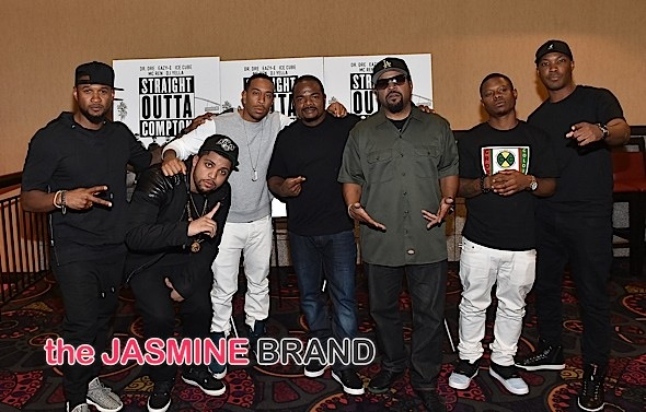 Ice Cube, Usher, Ludacris, 2 Chainz & Cast Attend 'Straight Outta Compton' Screening [Photos]