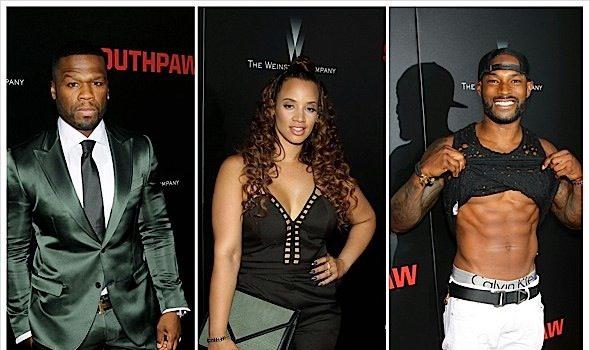 50 Cent, Naomie Harris, Eminem, Tyson Beckford, Rosie Perez Attend SOUTHPAW Premiere in NYC [Photos]