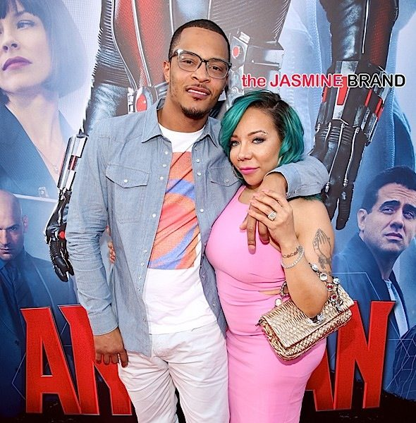 "T.I. Tells Wife Tiny Harris ""I F*ck*ng Love You"", As She Seductively Poses [Photo]"