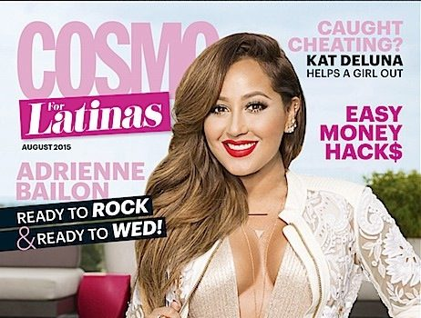 Adrienne Bailon Hated Her Breast Implants: 'I had my breasts done when I was 19.' + See Her Cosmo Latina Cover!