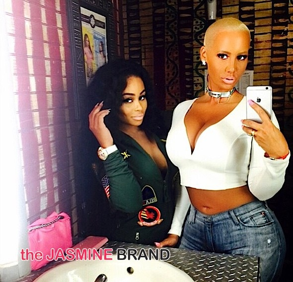 Did BFF's Amber Rose & Blac Chyna Pull Plug On Reality Show?